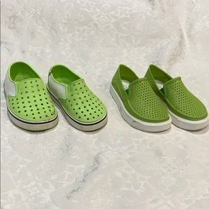 Set of boys water shoes